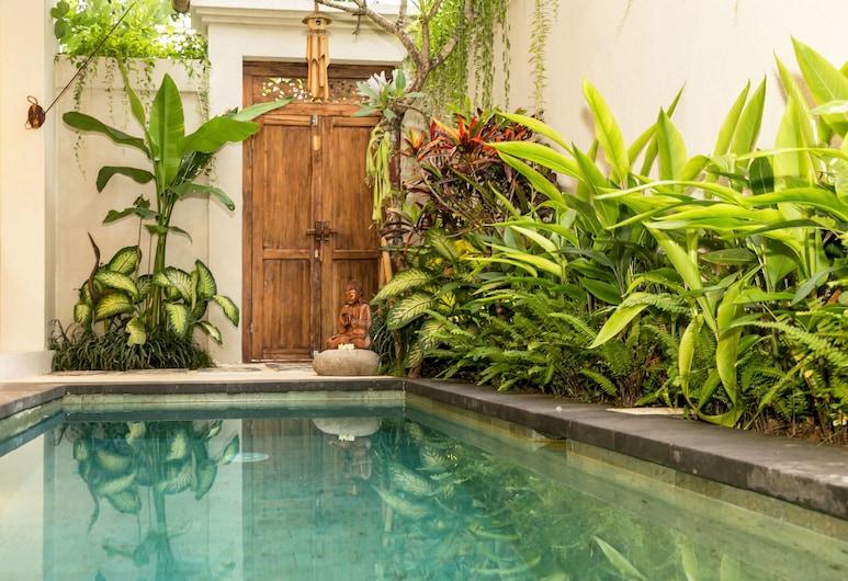 Aroha Boutique Villas, Seminyak, Vila, 2 quartos, Piscina particular (Trinity), Piscina externa