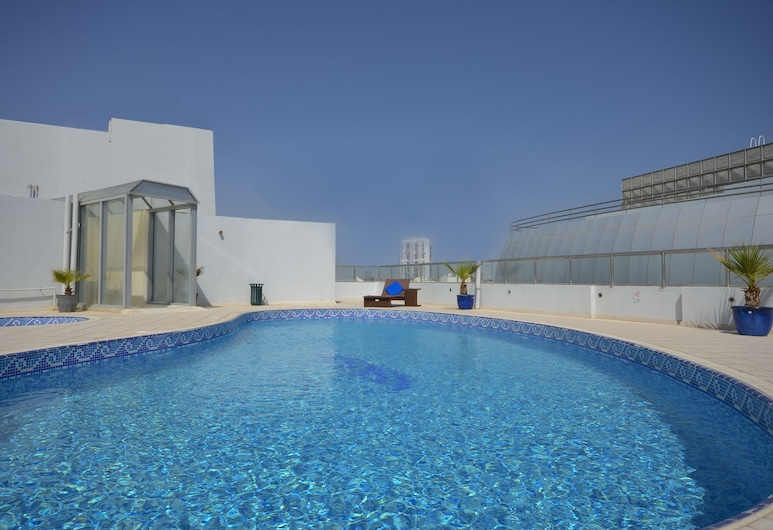 Al Waleed Palace Hotel Apartments-Al Barsha, Dubai, Outdoor Pool