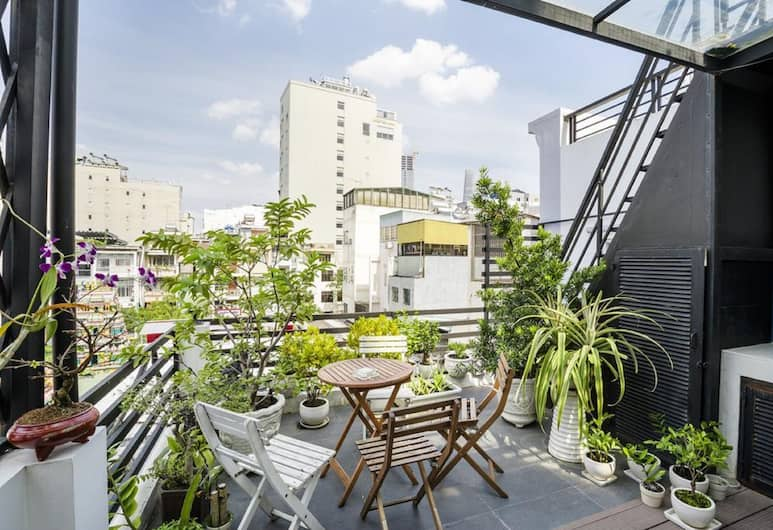 IPeace Hotel, Ho Chi Minh City, Terrace/Patio