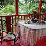 Tradičný dom, 1 extra veľké dvojlôžko, výhľad na záhradu - Balkón