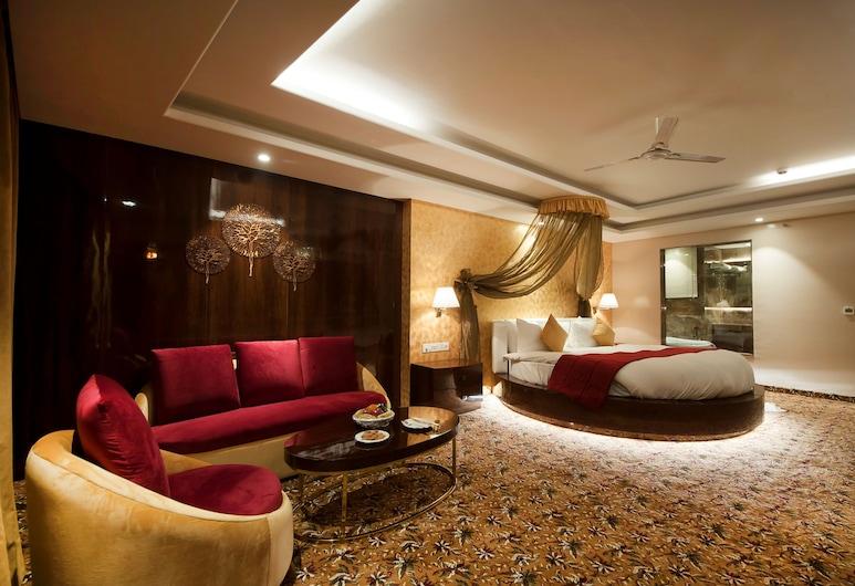 Hotel Ramhan Palace, Nuova Delhi, Suite monolocale Basic, Camera
