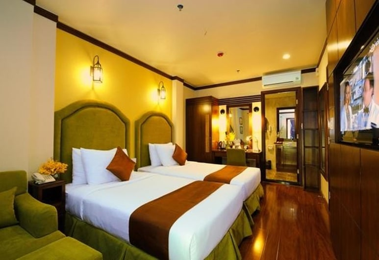 Asian Ruby Boutique Hotel, Ho Chi Minh City, Deluxe Room, Guest Room