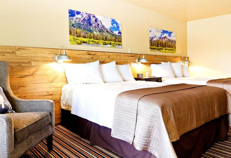 Blue Lakes Inn, Air Terjun Twin , Deluxe Double Room (Non-Dog Friendly), Kamar Tamu