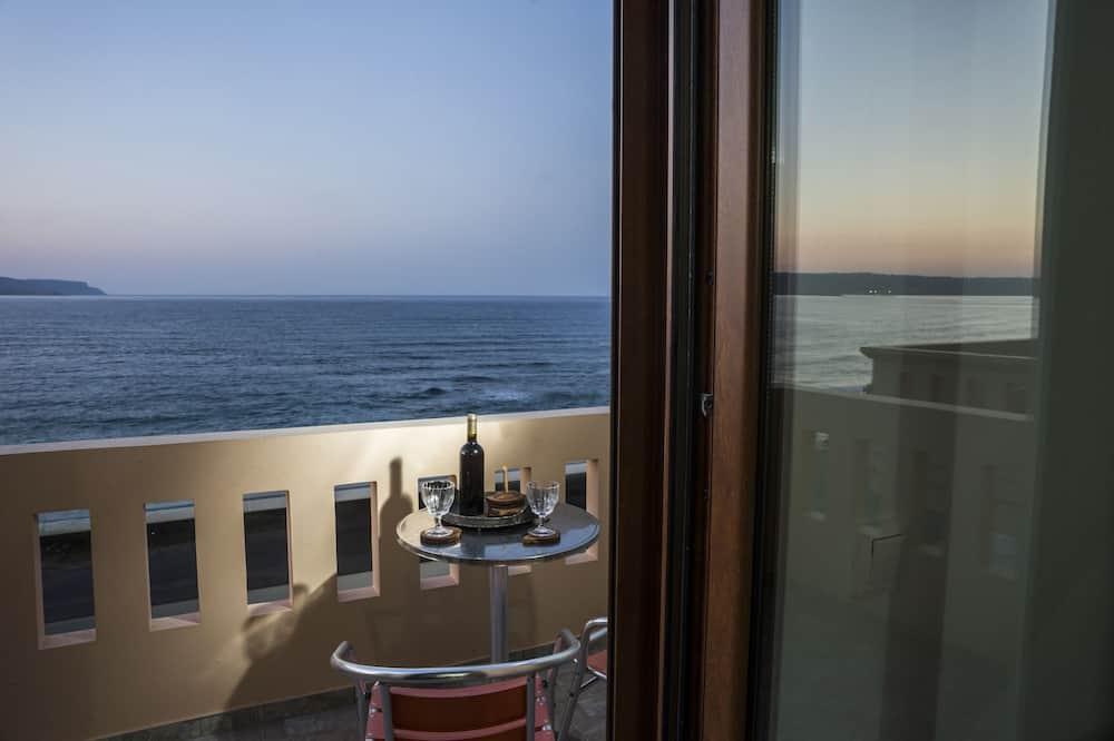 Family Apartment, 2 Bedrooms, Balcony, Sea View - Balcony