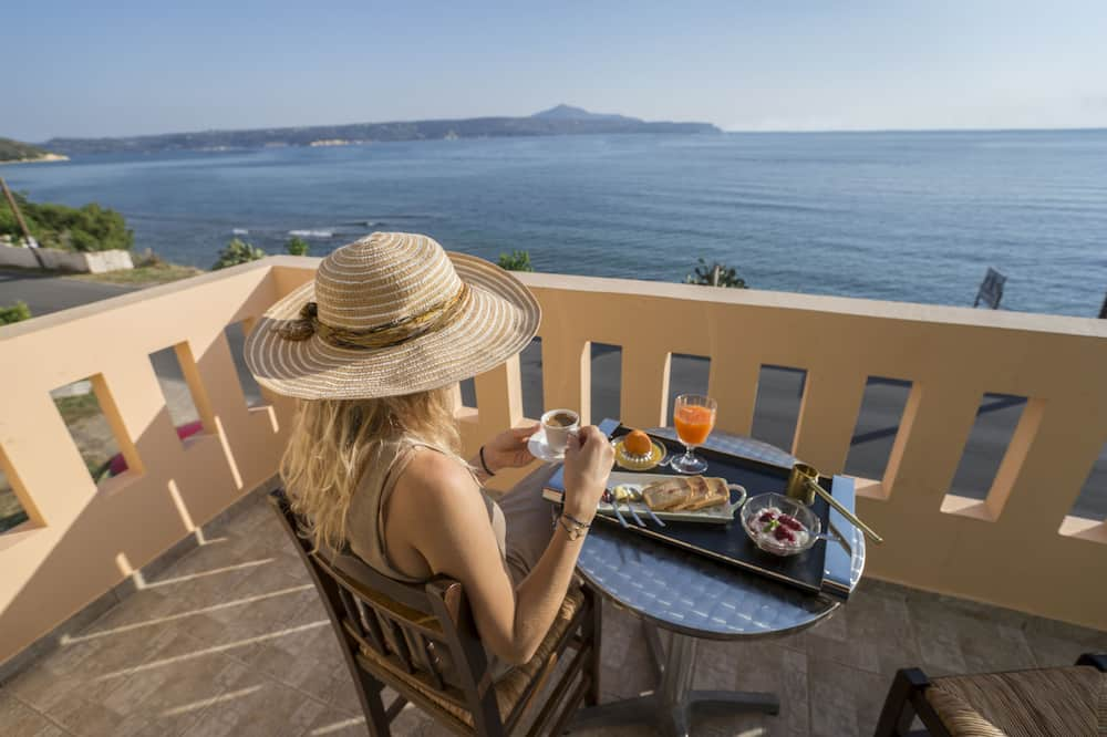Standard Apartment, 1 Bedroom, Balcony, Sea View - Balcony