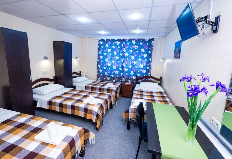 Semenovsky mini-hotel, Moscow, Shared Dormitory, Mixed Dorm (for 4 people), Guest Room