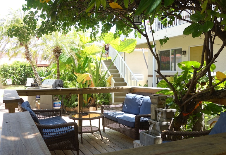 Ocean Drive Villas, Hollywood, Terrace/Patio