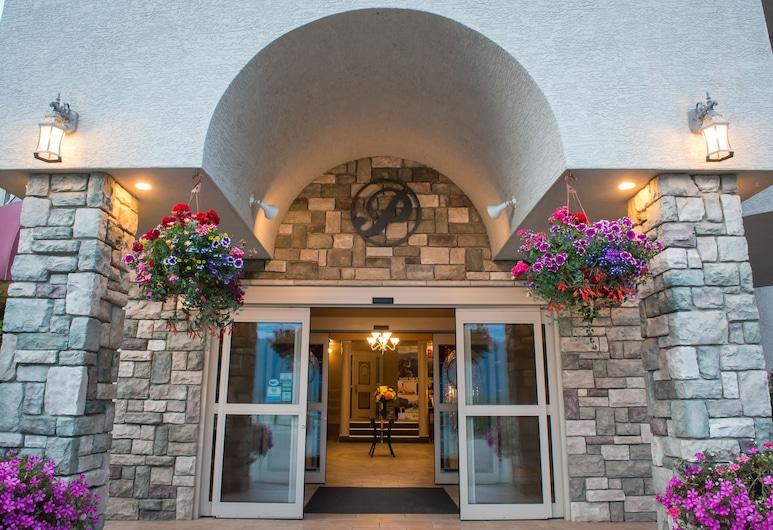 Hilltop Inn, Salmon Arm, Küche im Zimmer