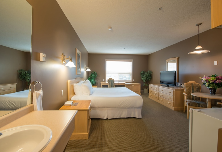 Podollan Inn Fort McMurray, Fort McMurray, King Bachelor, Guest Room