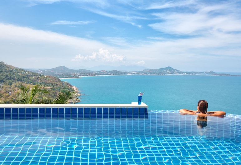 Sandalwood Luxury Villas, Koh Samui, 1 Bedroom Grand Pool Villa, Beach/Ocean View