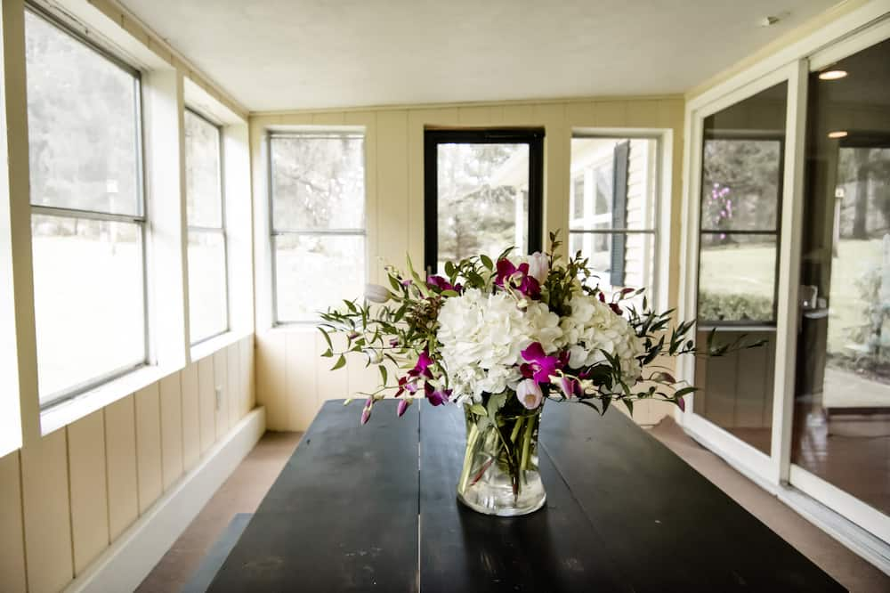 高級獨棟房屋, 私人浴室, 公園景觀 (The Guest House) - 陽台景觀