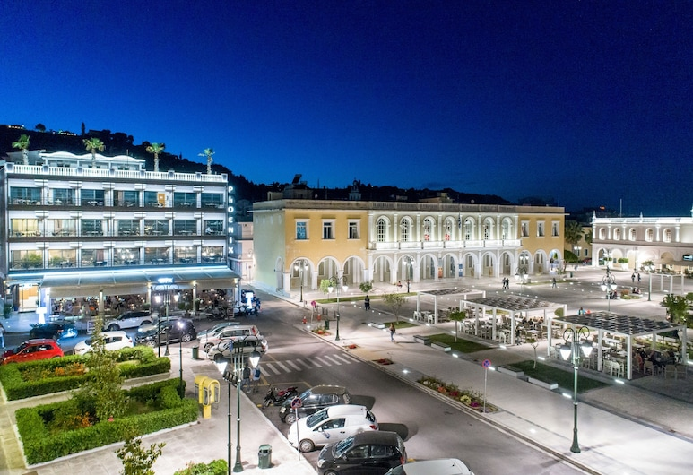 Phoenix Hotel, Ζάκυνθος, Εξωτερικός χώρος ξενοδοχείου