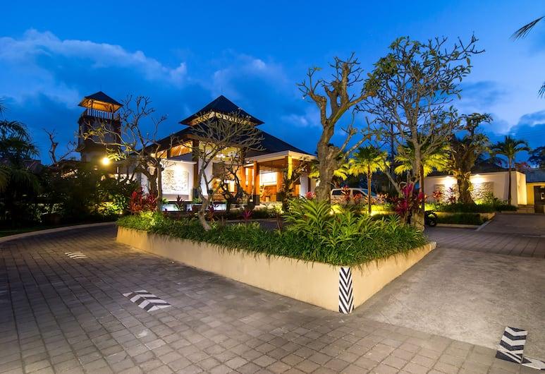 歐尼耶別墅渡假村, 烏布, 飯店入口
