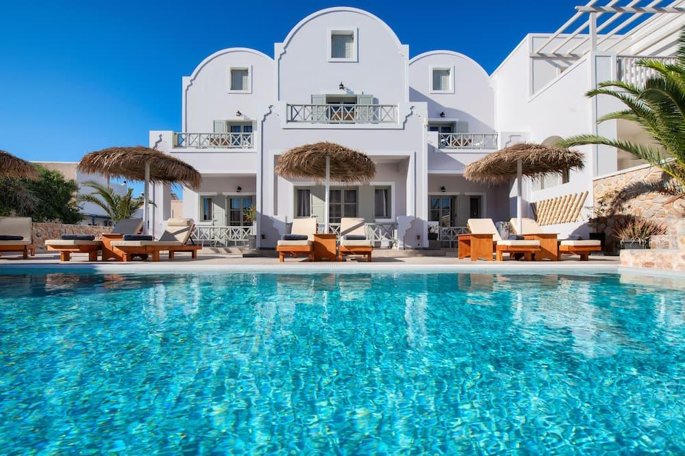 Chambre Double, vue piscine - Photo principale