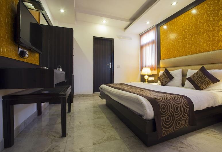 Hotel Shri Vinayak, Nýja Delí, Deluxe-herbergi, Herbergi