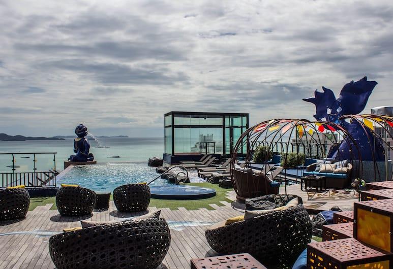 Siam@Siam Design Hotel Pattaya, Pattaya, Rooftop Pool