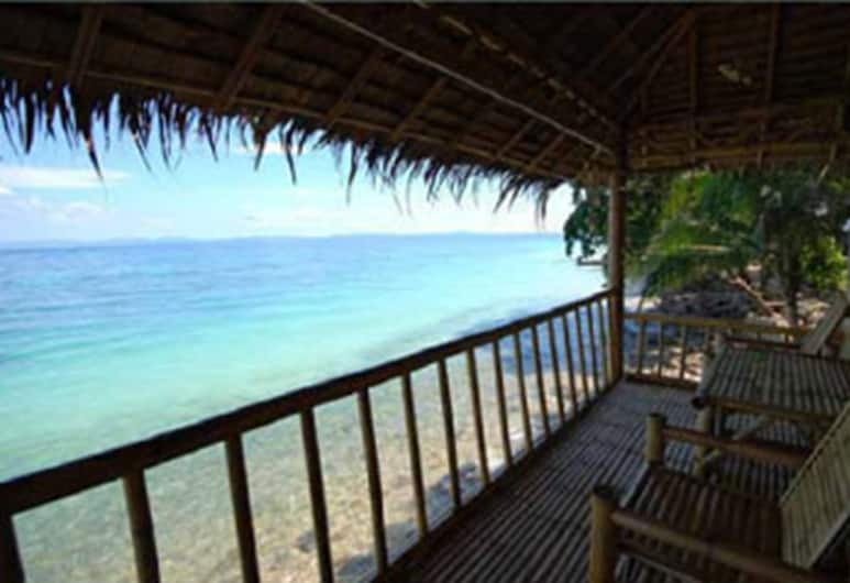 Tohko Beach resort, Ko Phi Phi, Bungalow, Beachfront, Balcony