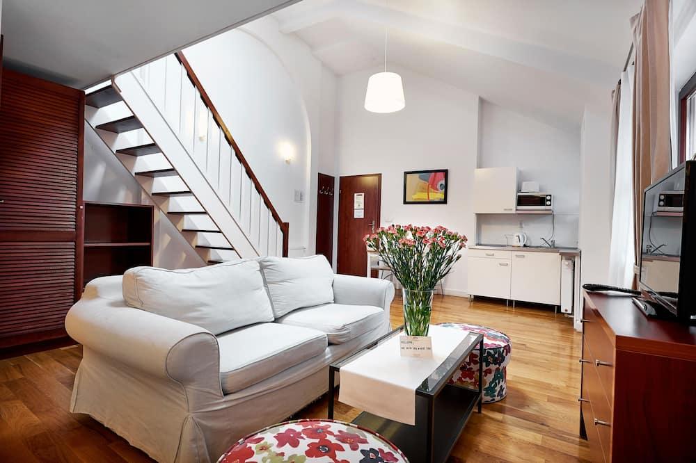 Apartament, antresola - Powierzchnia mieszkalna