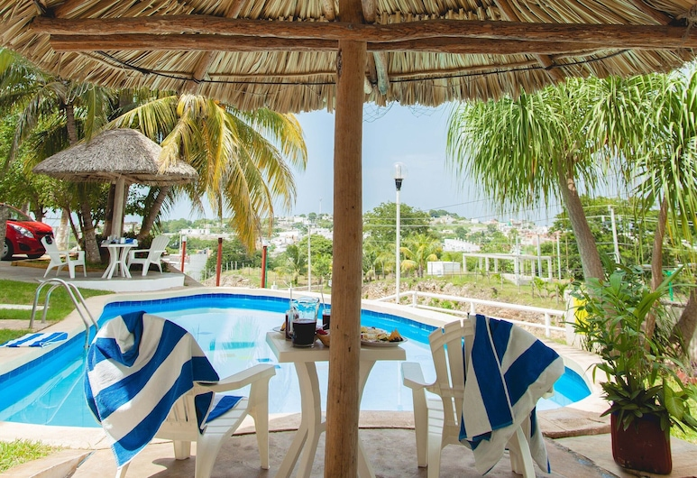 Hotel U Xul Kah, Campeche, Piscina
