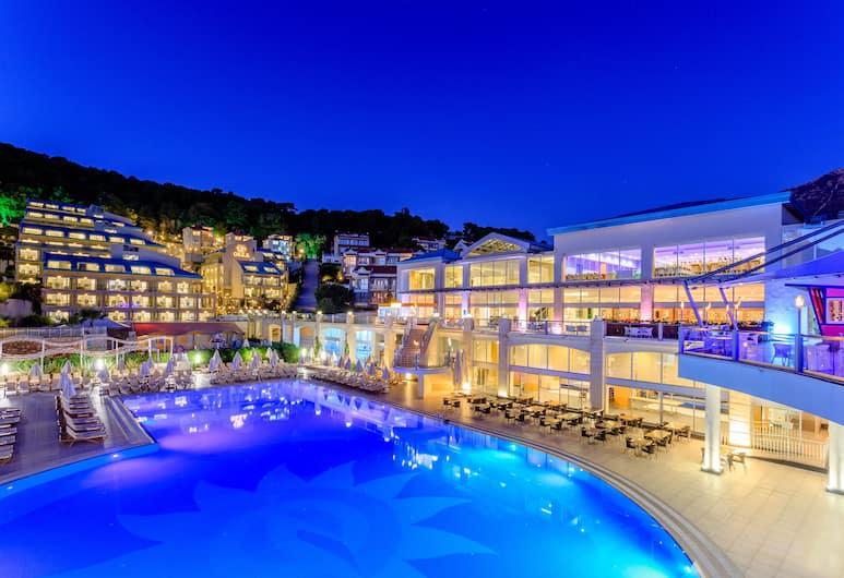 Orka Sunlife Resort & Spa, Fethiye, Buitenzwembad