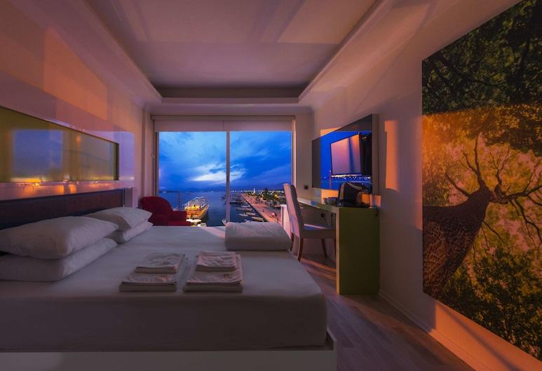 Orka Boutique Hotel, Fethiye, Habitación superior, vistas al mar, Habitación