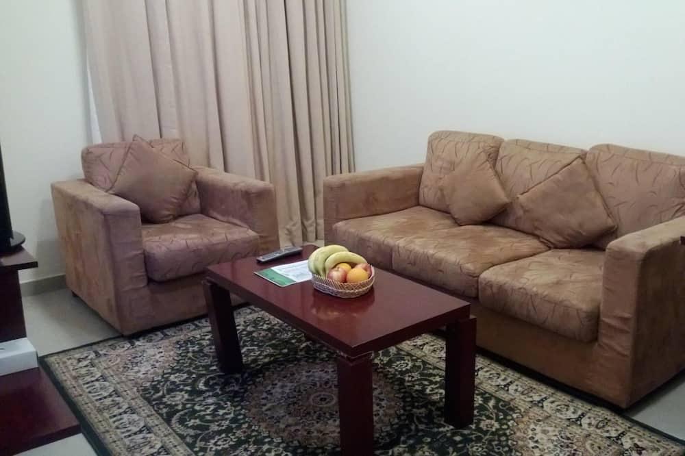 Dzīvoklis, divas guļamistabas - Dzīvojamā istaba