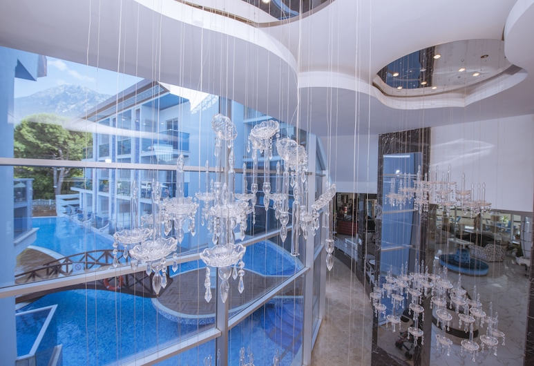 Ocean Blue High Class Hotel, Fethiye, Lobby