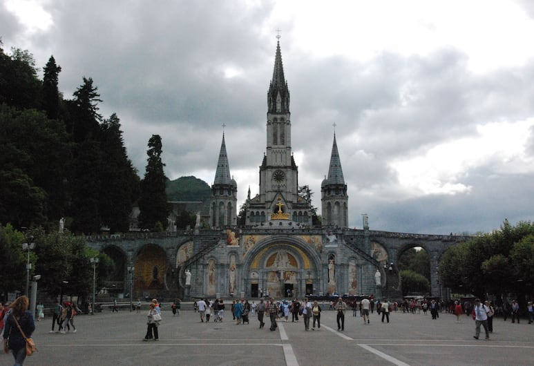 Hotel Acropolis, Lourdes, Dış Mekân