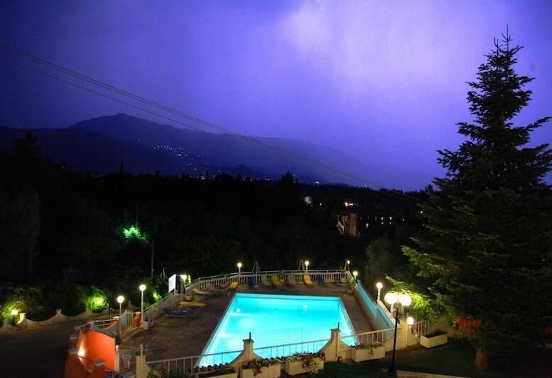 Victoria Hill, Corfu, View from Hotel