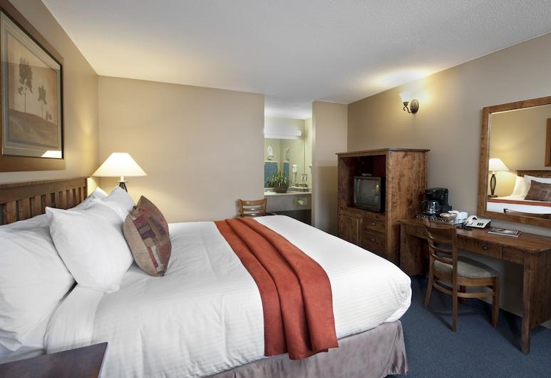 Maligne Lodge, Jasper, Pokój standardowy, Łóżko king, Pokój