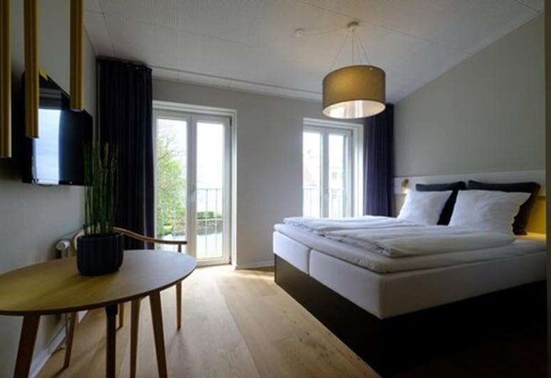 Strandhotel Røsnæs, Kalundborg, Dvojlôžková izba typu Superior, výhľad na more, Hosťovská izba