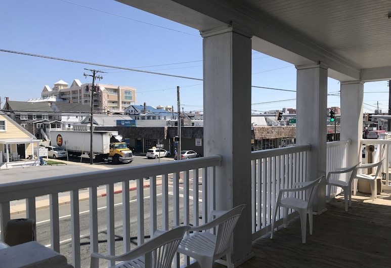 Ocean Lodge Hotel, Ocean City, Terrace/Patio