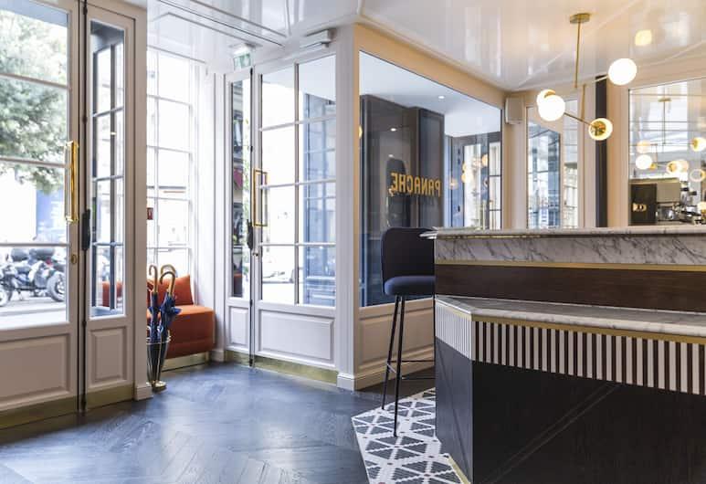 Hotel Panache, Paris, Resepsionis