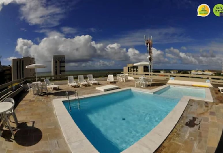 Aram Ouro Branco Hotel, Maceio, Tetőteraszi medence