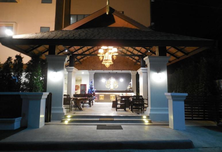 Rux-Thai Guest House, Chiang Mai, Fasada hotelu