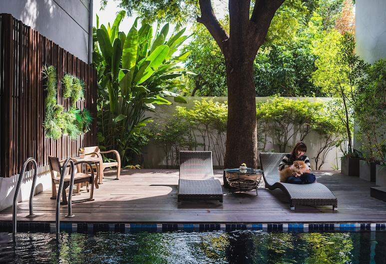 Ketawa Pet Friendly Hotel, Chiang Mai, Outdoor Pool