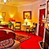 Deluxe King, Fireplace, Balcony  - Coin séjour