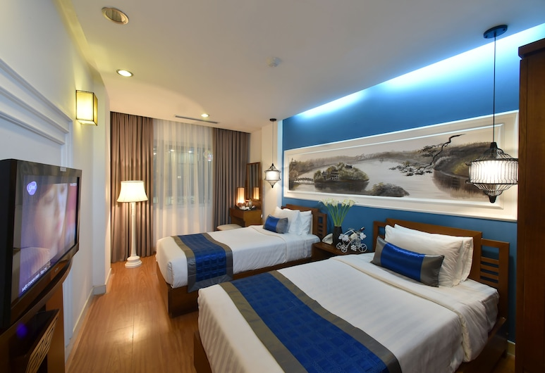 Hanoi Avatar Hotel, Hanoi, Deluxe Double or Twin Room, City View, Guest Room View