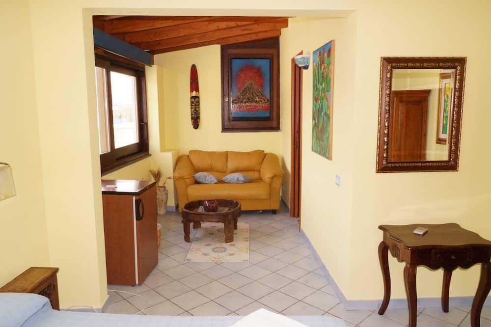 Vierbettzimmer - Wohnbereich