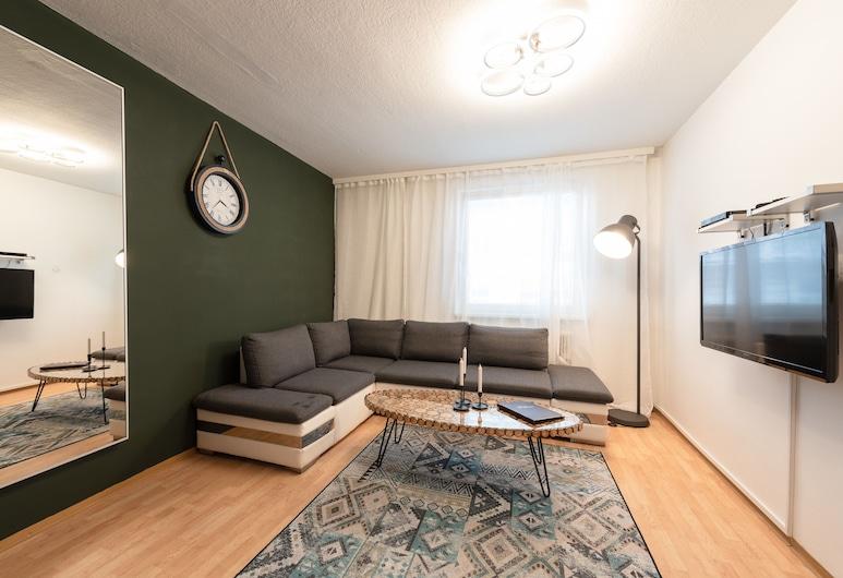 Royal Resort Apartments Blattgasse, Wien, Apartment, 1 Schlafzimmer, Küche (Marxergasse 36), Ausblick vom Zimmer