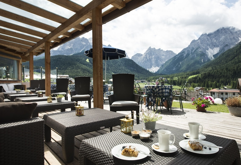 Berghotel, Sesto, Terrace/Patio