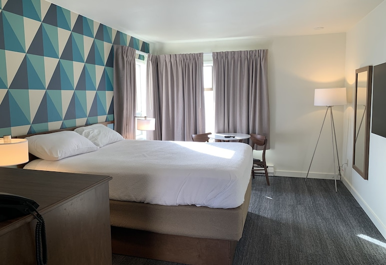 Ocean Front Motel, Seaside, Ocean Front Guestroom -Queen Corner Room, Hosťovská izba