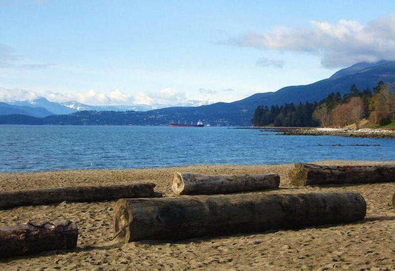 English Bay Hotel, Vancouver, Beach