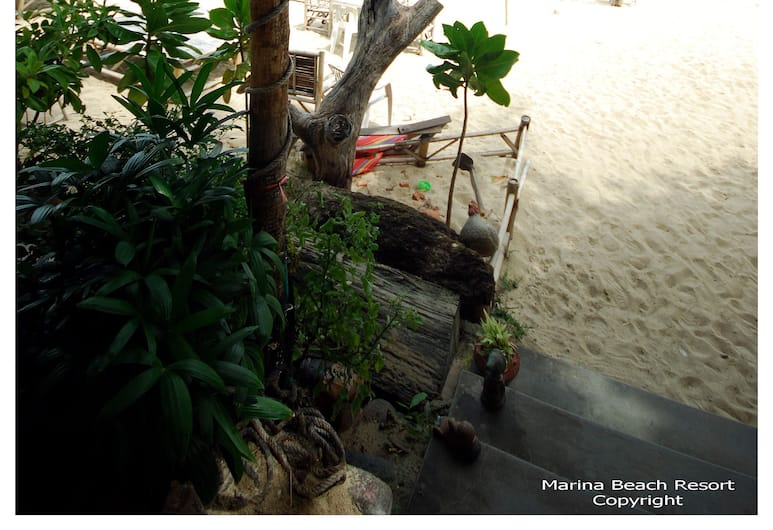 Marina Beach Resort, Ko Samui, Vue depuis l'hôtel
