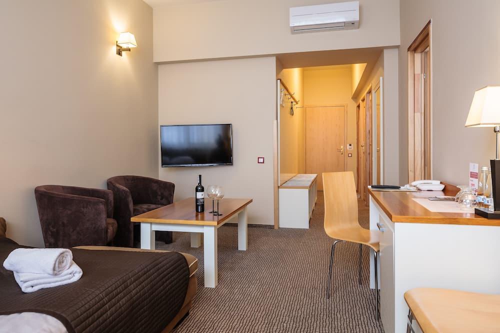Deluxe-lejlighed - 2 soveværelser - Værelsesfacilitet