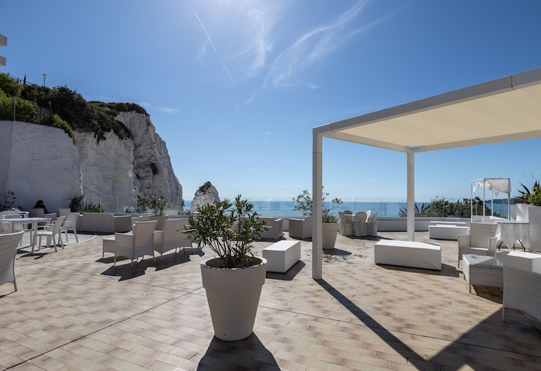 Hotel Falcone, Vieste, Terrasse/Patio