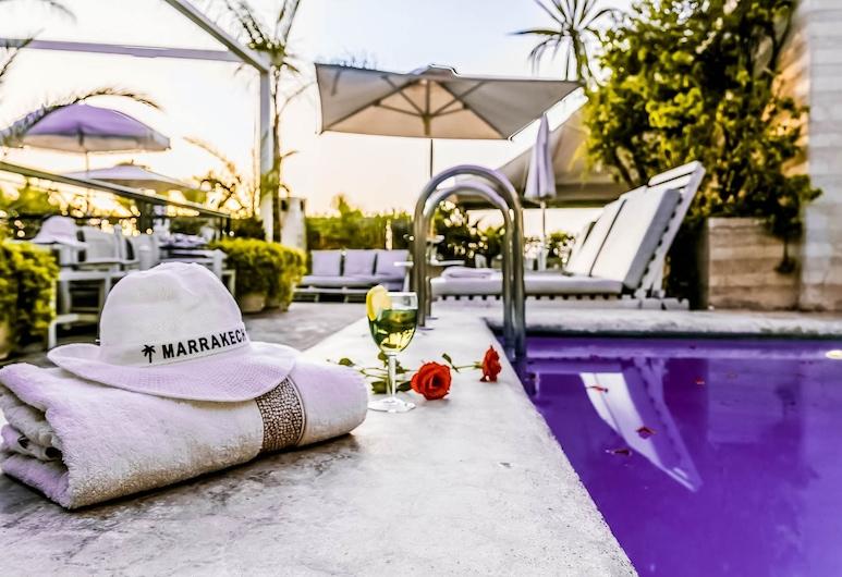 Riad Hasna Espi & SPA, Marrakesch, Außenpool