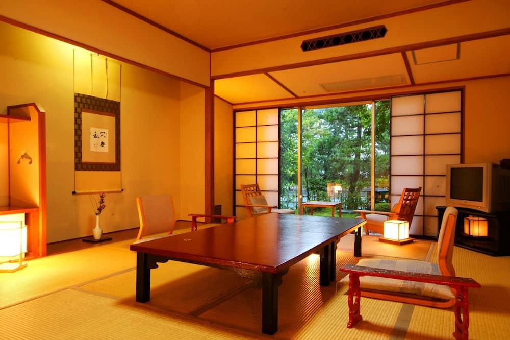傳統客房 (10 tatami mats, Kaiseki Plan) - 客廳