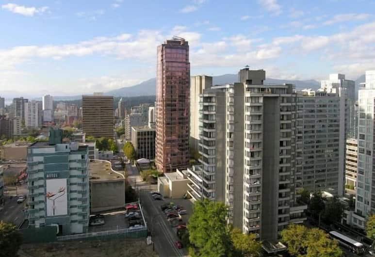Tropicana Suite Hotel, Vancouver, Uitzicht vanaf hotel