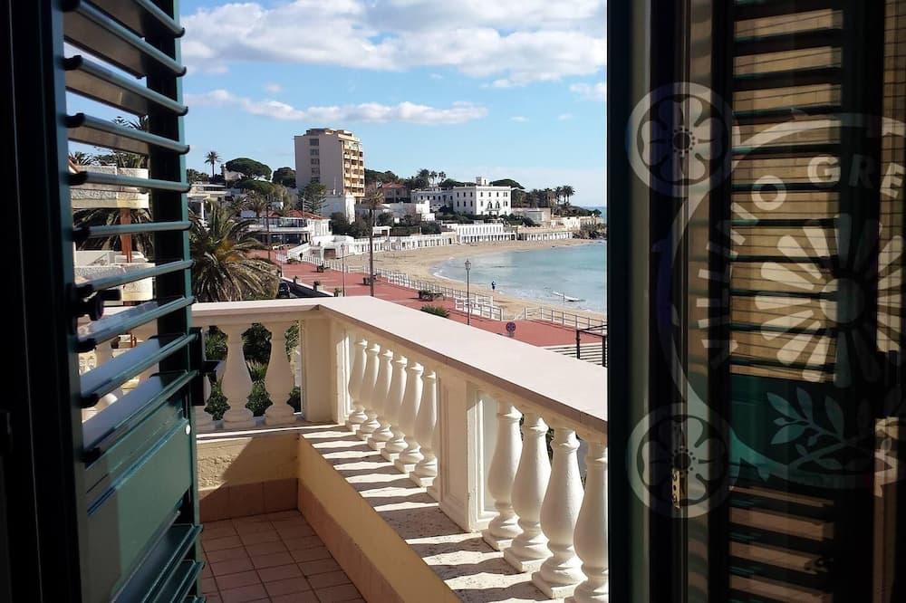 Dvokrevetna soba, 1 bračni krevet, terasa, pogled na more - Pogled na vodu